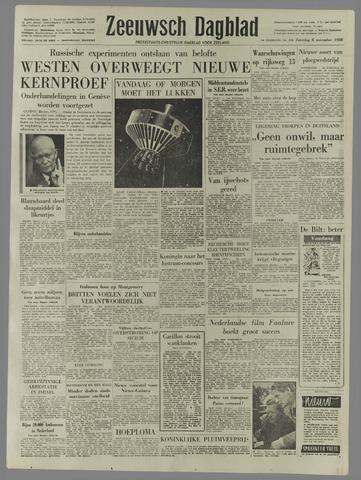 Zeeuwsch Dagblad 1958-11-08