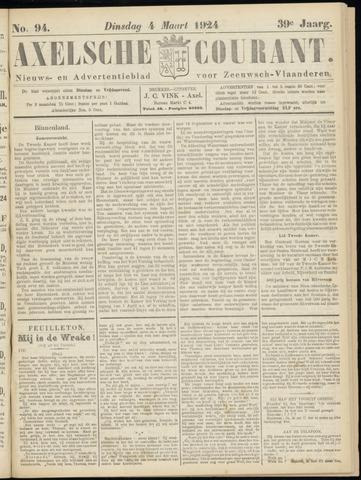 Axelsche Courant 1924-03-04