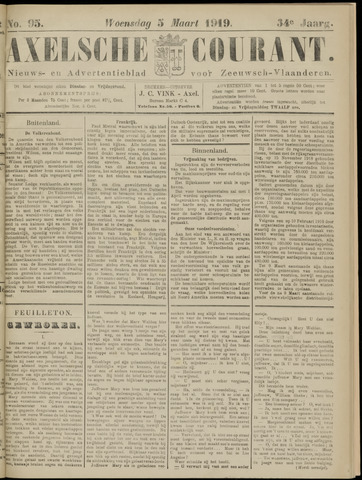 Axelsche Courant 1919-03-05