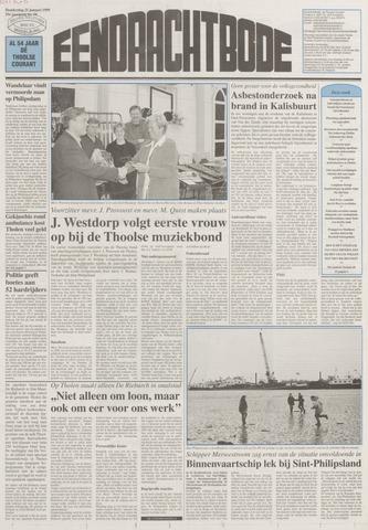 Eendrachtbode (1945-heden)/Mededeelingenblad voor het eiland Tholen (1944/45) 1999-01-21