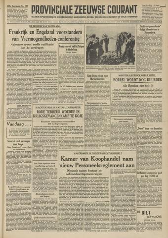 Provinciale Zeeuwse Courant 1952-06-12
