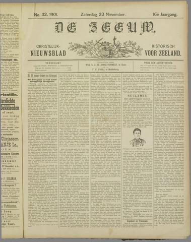 De Zeeuw. Christelijk-historisch nieuwsblad voor Zeeland 1901-11-23