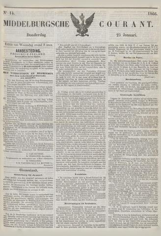 Middelburgsche Courant 1866-01-25