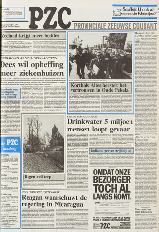 Provinciale Zeeuwse Courant 1988-02-05