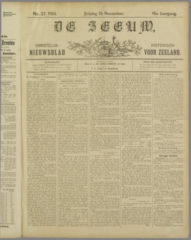 De Zeeuw. Christelijk-historisch nieuwsblad voor Zeeland 1901-11-15