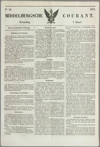 Middelburgsche Courant 1871-03-01