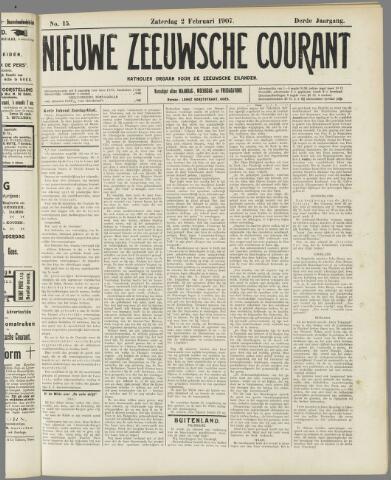 Nieuwe Zeeuwsche Courant 1907-02-02