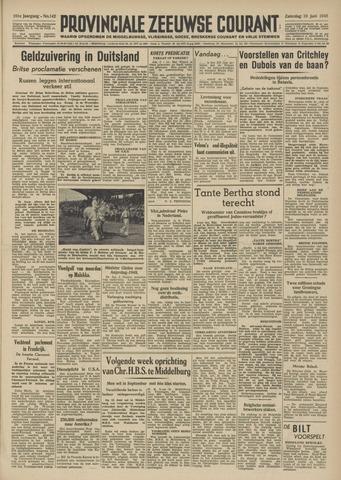 Provinciale Zeeuwse Courant 1948-06-19