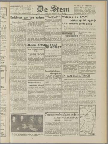 de Stem 1946-09-16