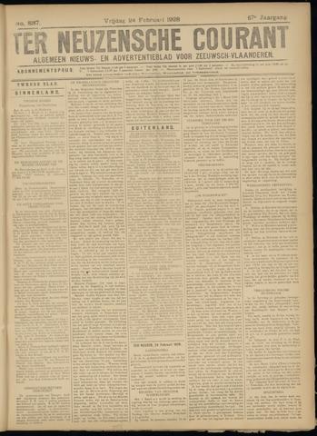 Ter Neuzensche Courant. Algemeen Nieuws- en Advertentieblad voor Zeeuwsch-Vlaanderen / Neuzensche Courant ... (idem) / (Algemeen) nieuws en advertentieblad voor Zeeuwsch-Vlaanderen 1928-02-24