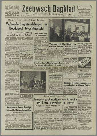 Zeeuwsch Dagblad 1957-01-12