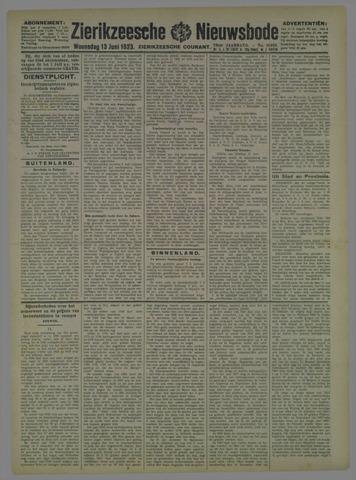 Zierikzeesche Nieuwsbode 1923-06-13