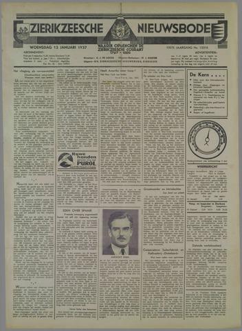 Zierikzeesche Nieuwsbode 1937-01-13