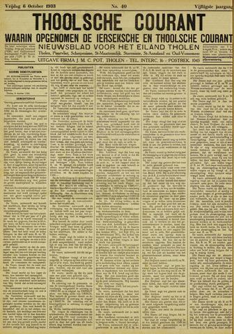 Ierseksche en Thoolsche Courant 1933-10-06