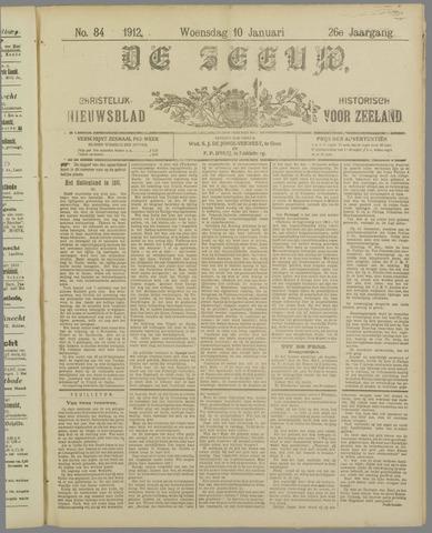 De Zeeuw. Christelijk-historisch nieuwsblad voor Zeeland 1912-01-10