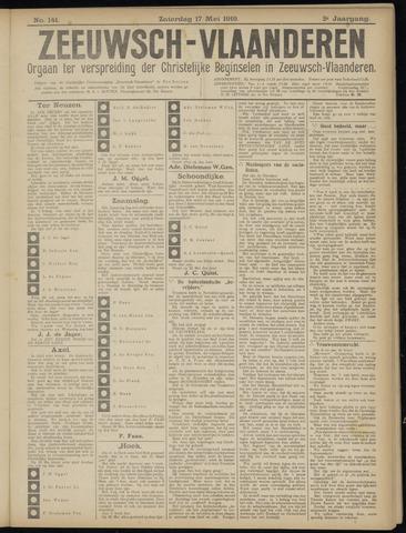 Luctor et Emergo. Antirevolutionair nieuws- en advertentieblad voor Zeeland / Zeeuwsch-Vlaanderen. Orgaan ter verspreiding van de christelijke beginselen in Zeeuwsch-Vlaanderen 1919-05-17