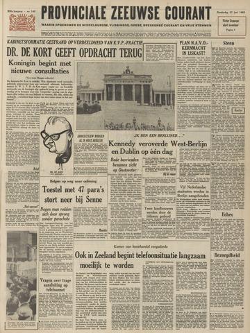 Provinciale Zeeuwse Courant 1963-06-27