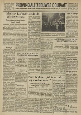 Provinciale Zeeuwse Courant 1950-10-26