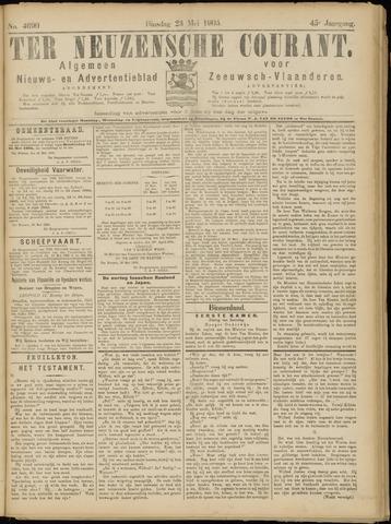 Ter Neuzensche Courant. Algemeen Nieuws- en Advertentieblad voor Zeeuwsch-Vlaanderen / Neuzensche Courant ... (idem) / (Algemeen) nieuws en advertentieblad voor Zeeuwsch-Vlaanderen 1905-05-23