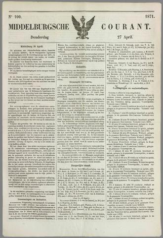 Middelburgsche Courant 1871-04-27