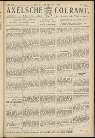 Axelsche Courant 1938-03-18