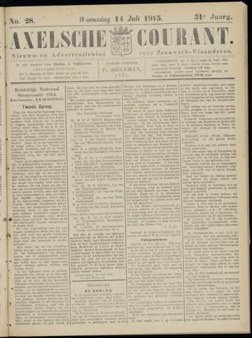 Axelsche Courant 1915-07-14