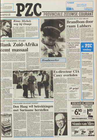 Provinciale Zeeuwse Courant 1987-05-07
