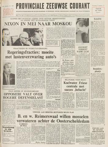 Provinciale Zeeuwse Courant 1971-10-13