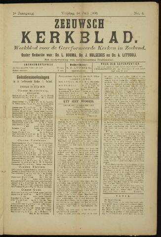 Zeeuwsche kerkbode, weekblad gewijd aan de belangen der gereformeerde kerken/ Zeeuwsch kerkblad 1903-07-24