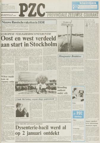 Provinciale Zeeuwse Courant 1984-01-18