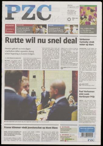 Provinciale Zeeuwse Courant 2013-09-27