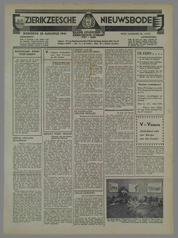 Zierikzeesche Nieuwsbode 1941-08-21