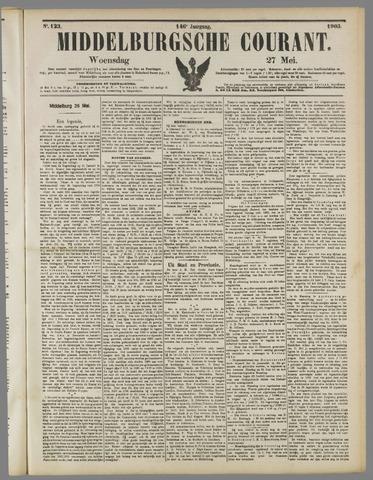 Middelburgsche Courant 1903-05-27