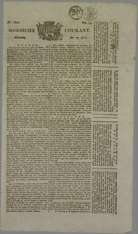 Goessche Courant 1822-04-29