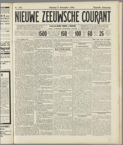 Nieuwe Zeeuwsche Courant 1913-12-09