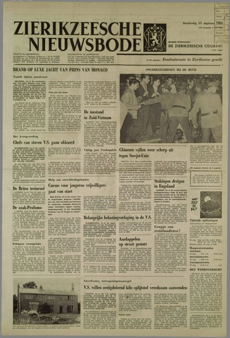 Zierikzeesche Nieuwsbode 1963-08-15