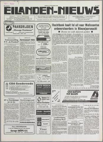 Eilanden-nieuws. Christelijk streekblad op gereformeerde grondslag 1985-12-13