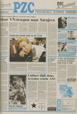 Provinciale Zeeuwse Courant 1992-07-14
