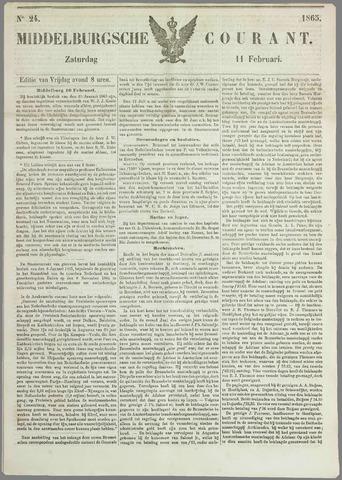Middelburgsche Courant 1865-02-11