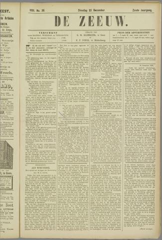 De Zeeuw. Christelijk-historisch nieuwsblad voor Zeeland 1891-12-22