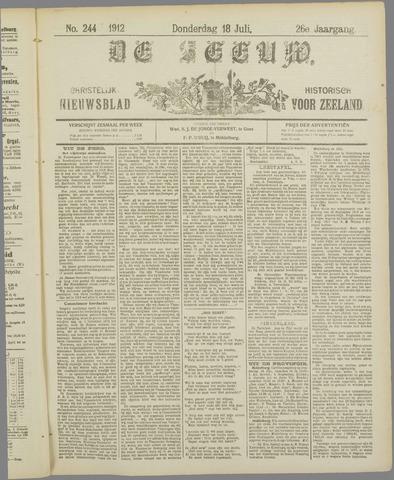 De Zeeuw. Christelijk-historisch nieuwsblad voor Zeeland 1912-07-18