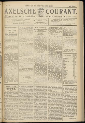 Axelsche Courant 1930-09-30