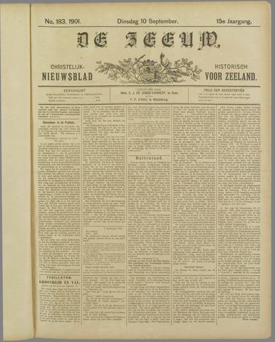 De Zeeuw. Christelijk-historisch nieuwsblad voor Zeeland 1901-09-10