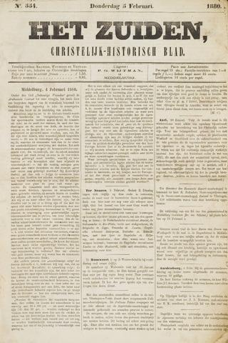 Het Zuiden, Christelijk-historisch blad 1880-02-05
