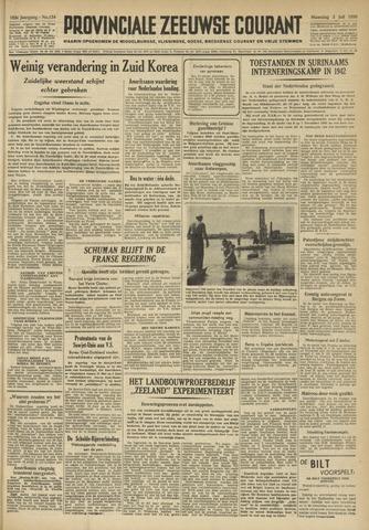 Provinciale Zeeuwse Courant 1950-07-03