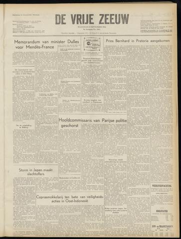 de Vrije Zeeuw 1954-09-27