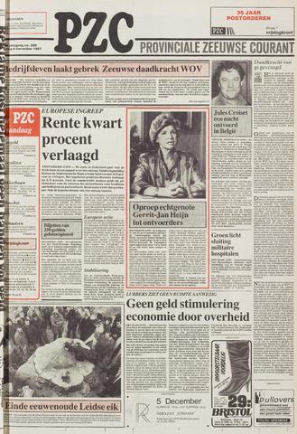 Provinciale Zeeuwse Courant 1987-12-04