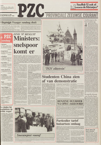 Provinciale Zeeuwse Courant 1986-12-23