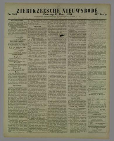 Zierikzeesche Nieuwsbode 1888-03-10