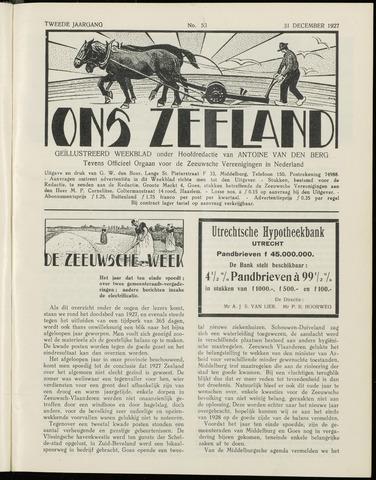 Ons Zeeland / Zeeuwsche editie 1927-12-31